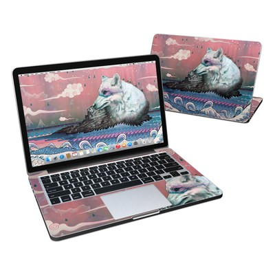 MacBook Pro Retina 13in Skin - Lone Wolf