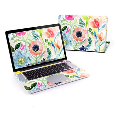 MacBook Pro Retina 13in Skin - Loose Flowers