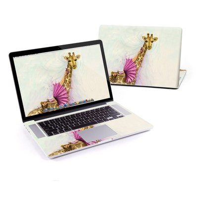 MacBook Pro Retina 13in Skin - Lounge Giraffe
