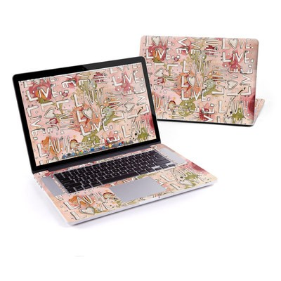 MacBook Pro Retina 13in Skin - Love Floral