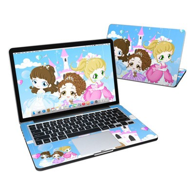 MacBook Pro Retina 13in Skin - Little Princesses