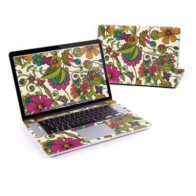 MacBook Pro Retina 13in Skin - Maia Flowers