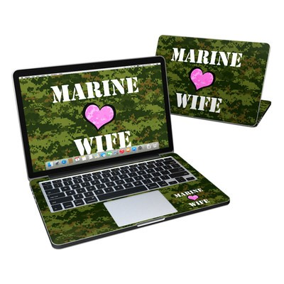 MacBook Pro Retina 13in Skin - Marine Wife