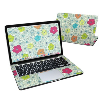 MacBook Pro Retina 13in Skin - May Flowers
