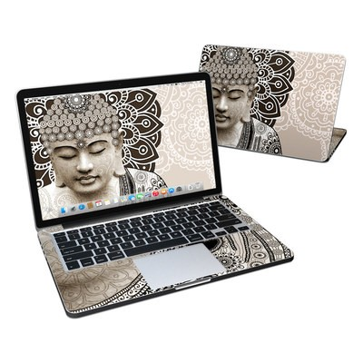 MacBook Pro Retina 13in Skin - Meditation Mehndi