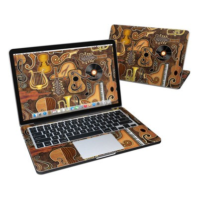 MacBook Pro Retina 13in Skin - Music Elements