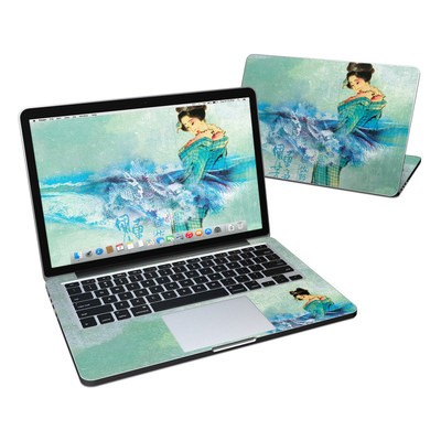 MacBook Pro Retina 13in Skin - Magic Wave