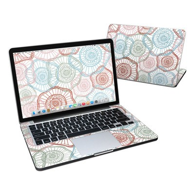 MacBook Pro Retina 13in Skin - Micro Flowers