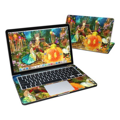 MacBook Pro Retina 13in Skin - Midnight Fairytale