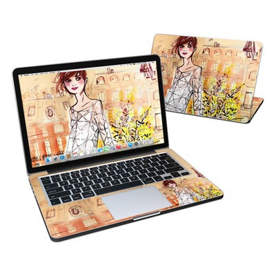 MacBook Pro Retina 13in Skin - Mimosa Girl