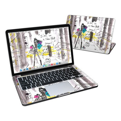 MacBook Pro Retina 13in Skin - My New York Mood