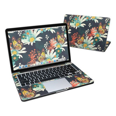 MacBook Pro Retina 13in Skin - Monarch Grove