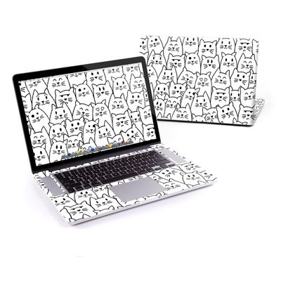 MacBook Pro Retina 13in Skin - Moody Cats