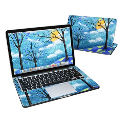 MacBook Pro Retina 13in Skin - Moon Dance Magic