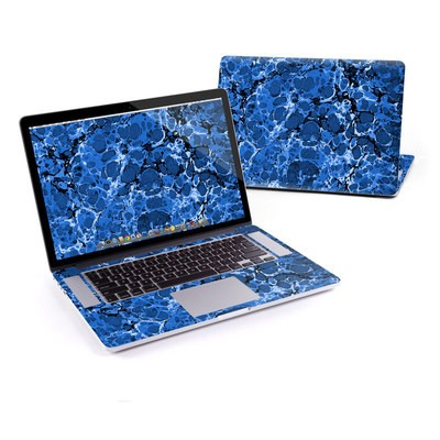 MacBook Pro Retina 13in Skin - Marble Bubbles