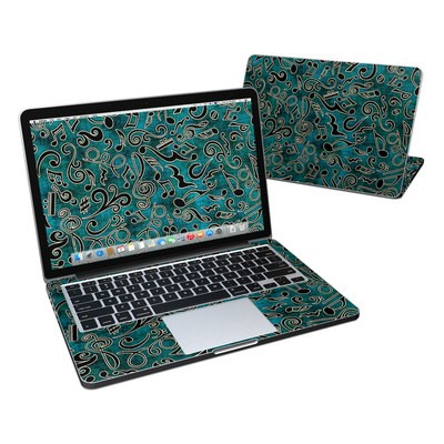 MacBook Pro Retina 13in Skin - Music Notes
