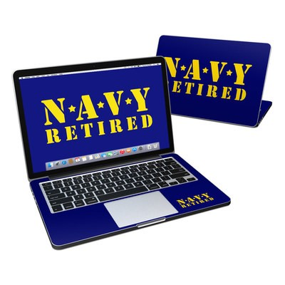 MacBook Pro Retina 13in Skin - Navy Retired