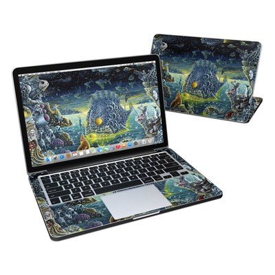 MacBook Pro Retina 13in Skin - Night Trawlers