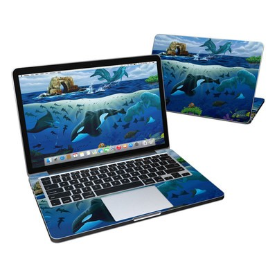 MacBook Pro Retina 13in Skin - Oceans For Youth