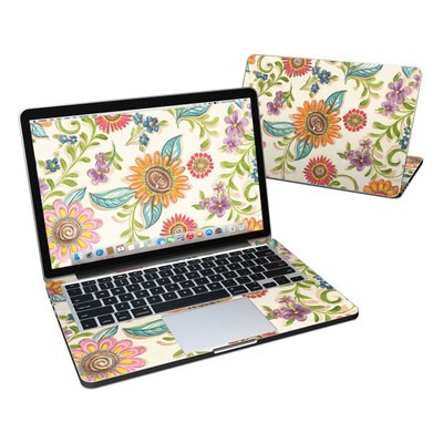 MacBook Pro Retina 13in Skin - Olivia's Garden