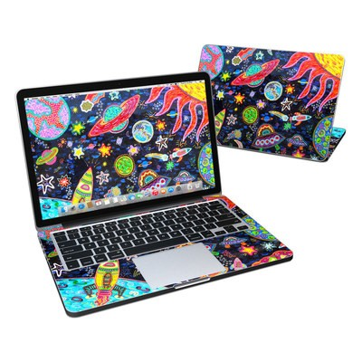 MacBook Pro Retina 13in Skin - Out to Space