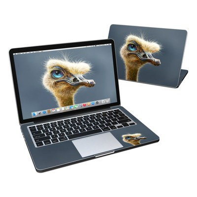 MacBook Pro Retina 13in Skin - Ostrich Totem