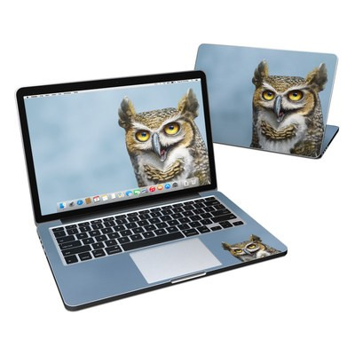 MacBook Pro Retina 13in Skin - Owl Totem
