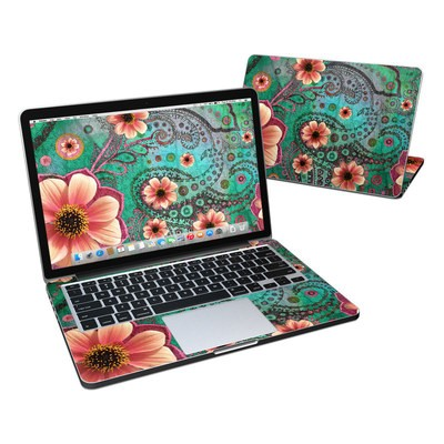 MacBook Pro Retina 13in Skin - Paisley Paradise