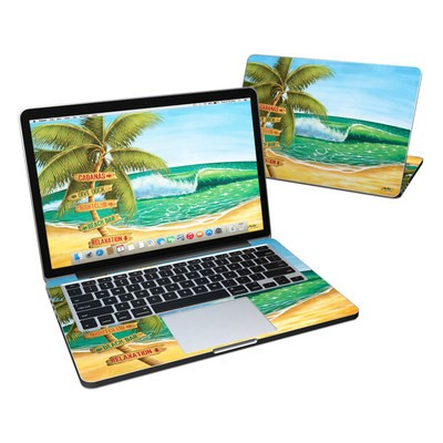 MacBook Pro Retina 13in Skin - Palm Signs