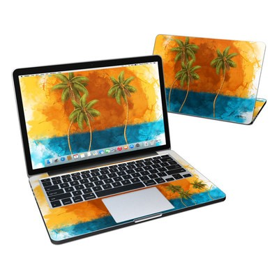 MacBook Pro Retina 13in Skin - Palm Trio