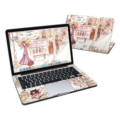 MacBook Pro Retina 13in Skin - Paris Makes Me Happy