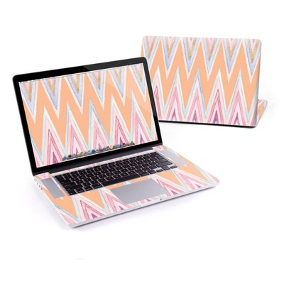 MacBook Pro Retina 13in Skin - Pastel Chevron