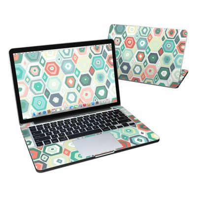 MacBook Pro Retina 13in Skin - Pastel Diamond