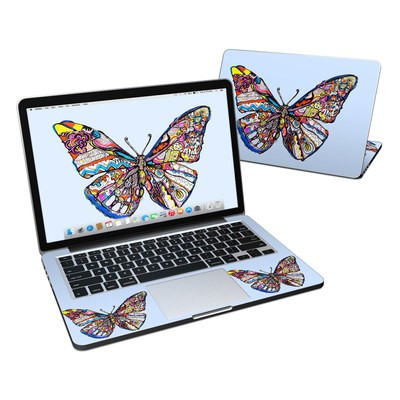 MacBook Pro Retina 13in Skin - Pieced Butterfly