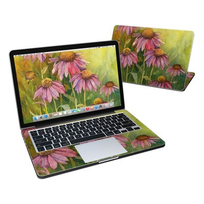 MacBook Pro Retina 13in Skin - Prairie Coneflower