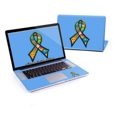 MacBook Pro Retina 13in Skin - Peace Ribbon