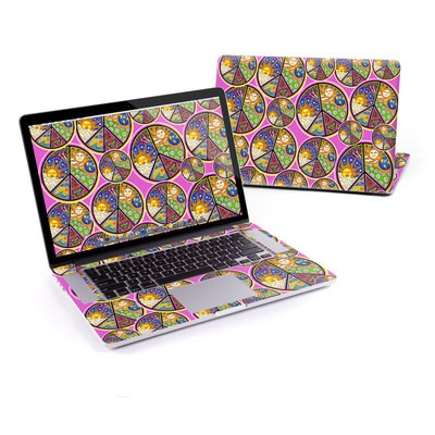 MacBook Pro Retina 13in Skin - Peace Signs