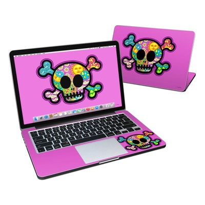 MacBook Pro Retina 13in Skin - Peace Skull