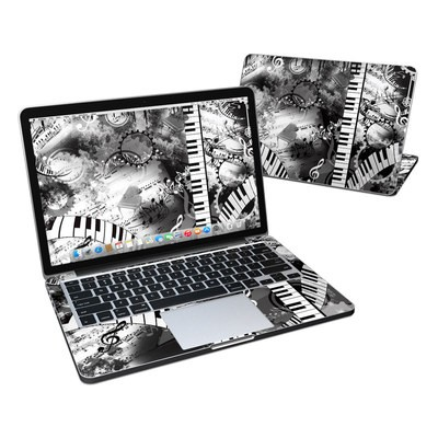 MacBook Pro Retina 13in Skin - Piano Pizazz