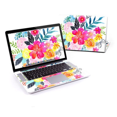 MacBook Pro Retina 13in Skin - Pink Bouquet