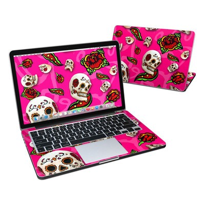 MacBook Pro Retina 13in Skin - Pink Scatter
