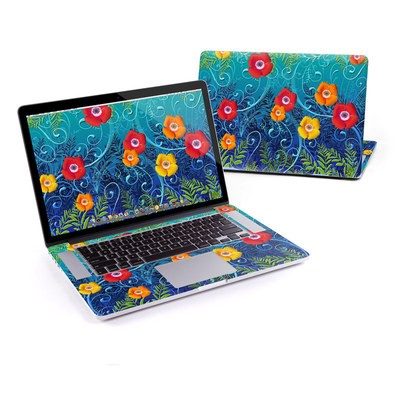 MacBook Pro Retina 13in Skin - Poppies