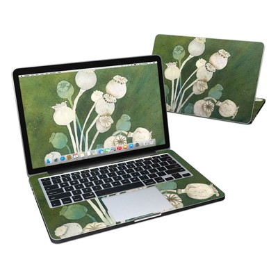 MacBook Pro Retina 13in Skin - Poppy Pods