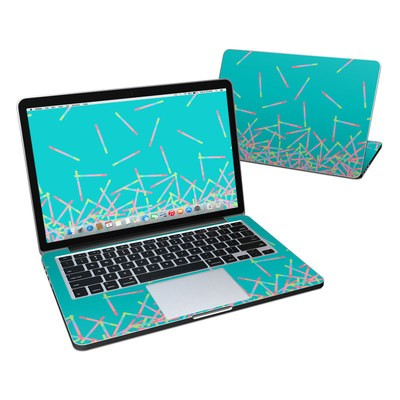 MacBook Pro Retina 13in Skin - Pop Rocks Wands