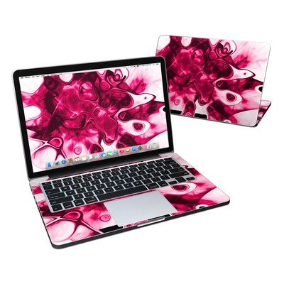 MacBook Pro Retina 13in Skin - Pink Splatter