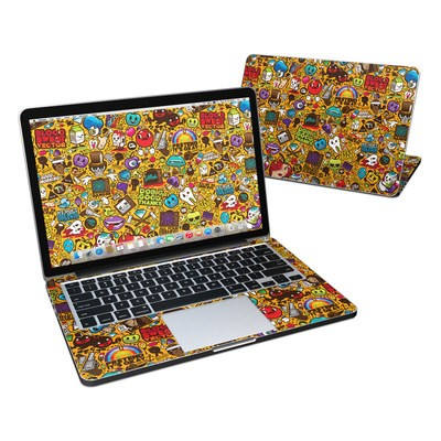 MacBook Pro Retina 13in Skin - Psychedelic