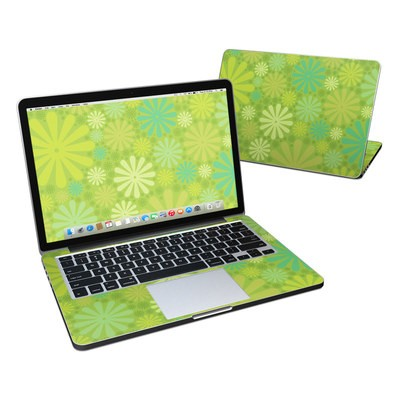 MacBook Pro Retina 13in Skin - Lime Punch