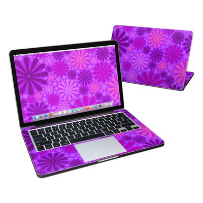 MacBook Pro Retina 13in Skin - Purple Punch