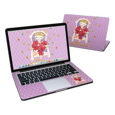 MacBook Pro Retina 13in Skin - Queen Mother
