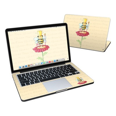 MacBook Pro Retina 13in Skin - Queen Bee